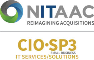 NITAAC and CIO-SP3 Small Business Logo